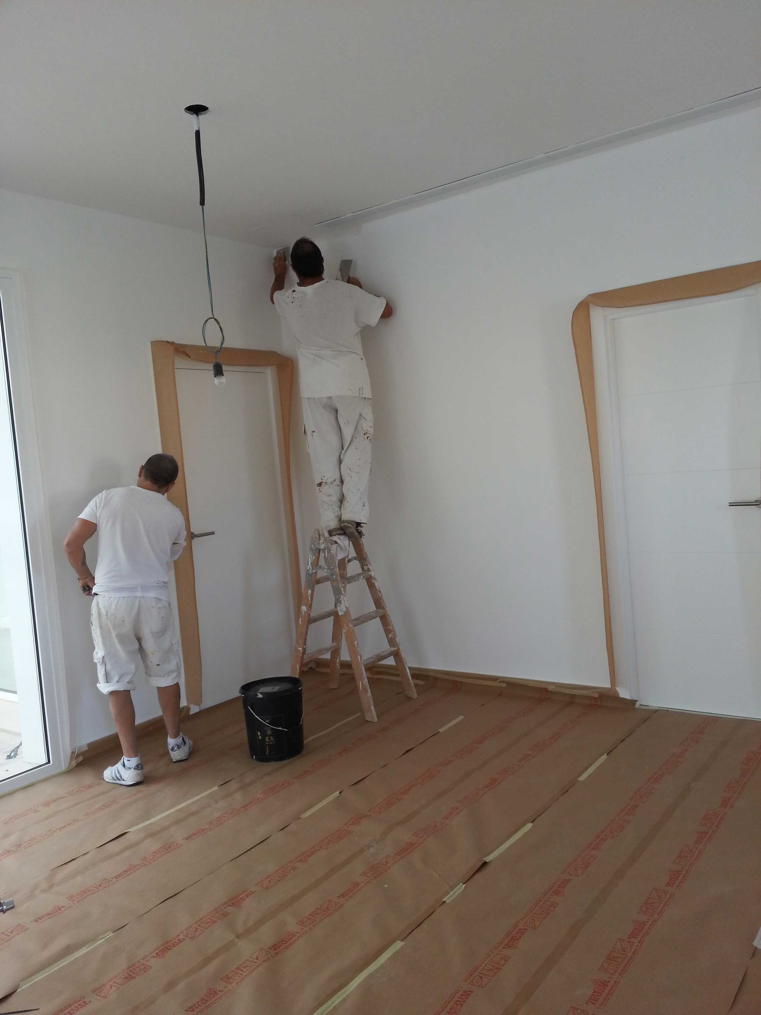 Cu l es el presupuesto para quitar el gotel - Pasta alisar paredes ...