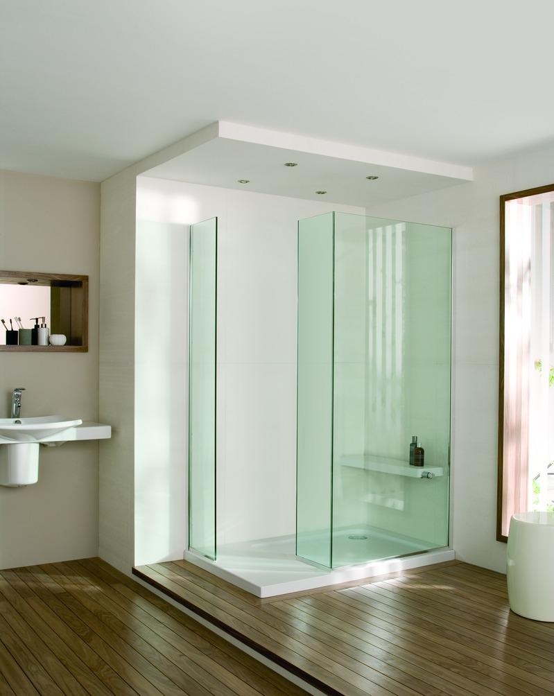 Mamparas Para Baño Zona Quilmes: de baño con la inclusión de una mampara de cristal tanto en el