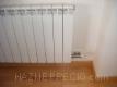 radiador instalado en dormitorio mediano