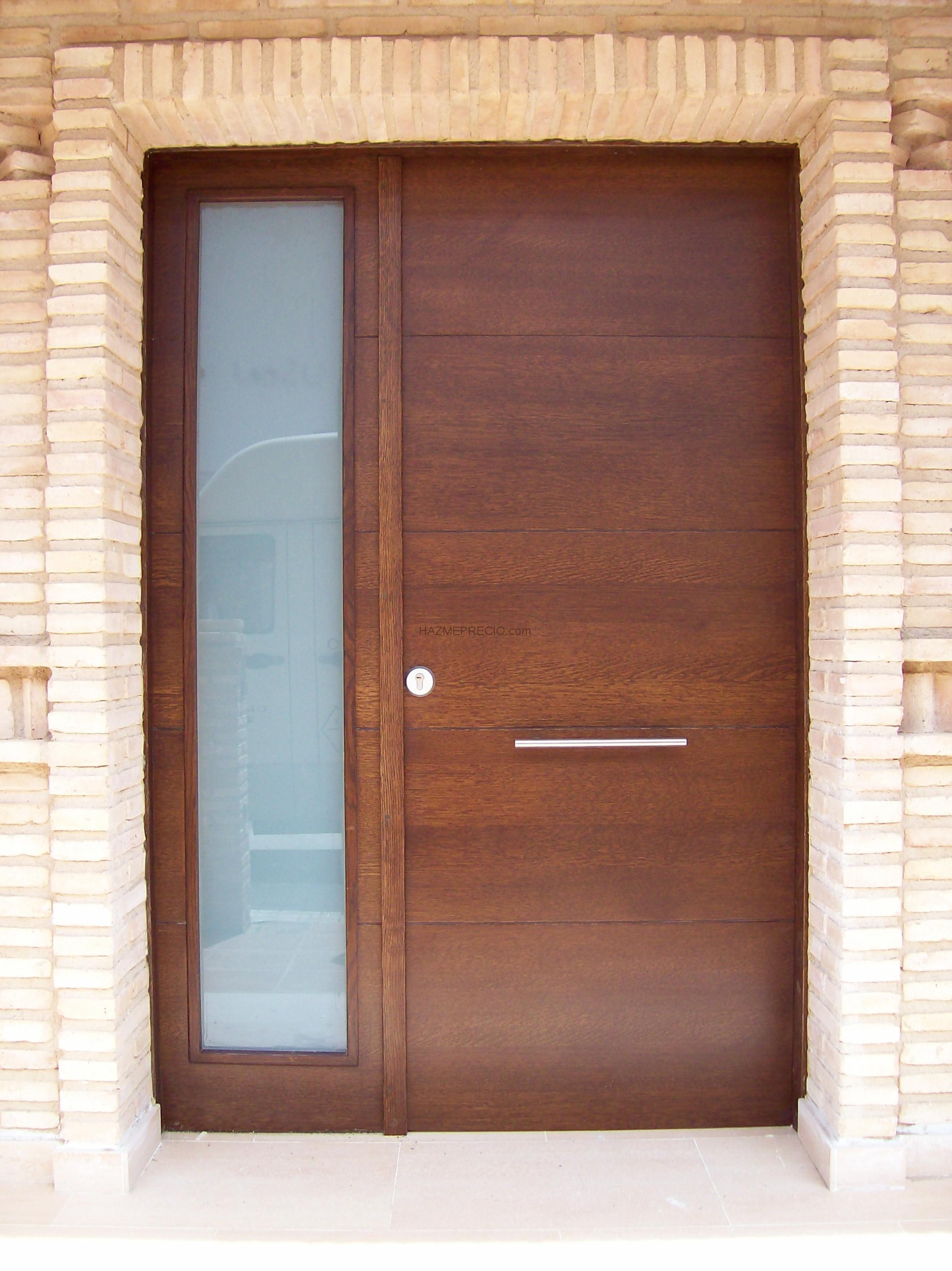 Puertas de interior madera laminadas en pvc car interior for Puertas de madera exterior modernas precios