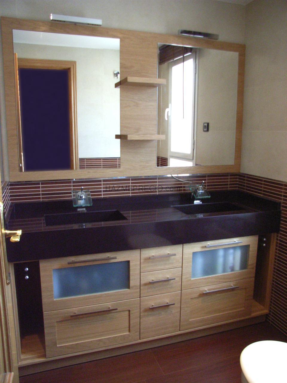 Imagenes de muebles de ba o de obra for Bajo lavabo de obra