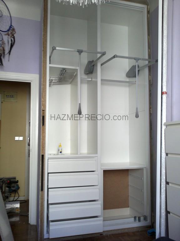 Presupuesto Armario Empotrado Madrid : Presupuesto para realizar instalacion de un armario