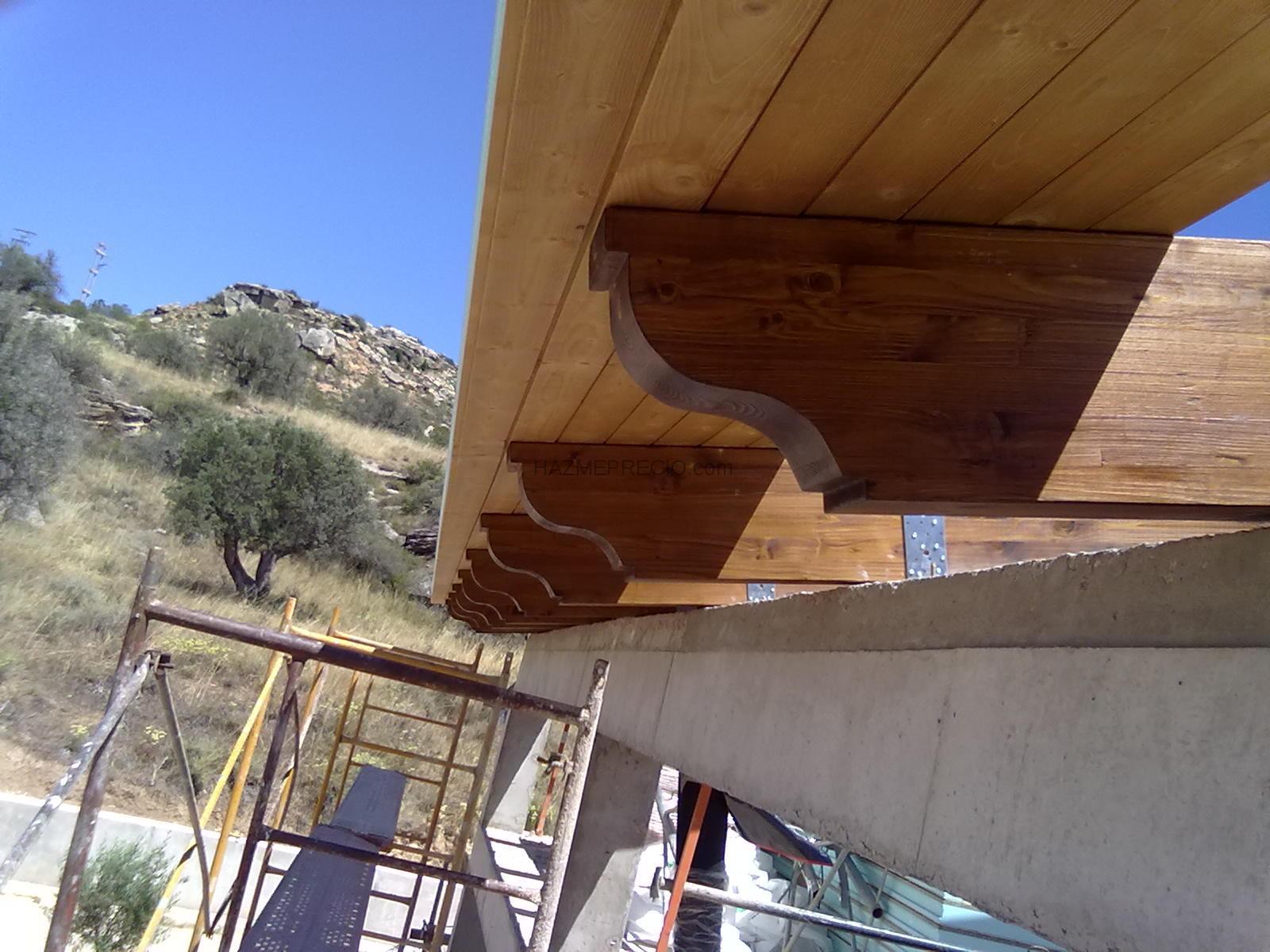Empresas de tejados en teruel for Tejados de madera modernos