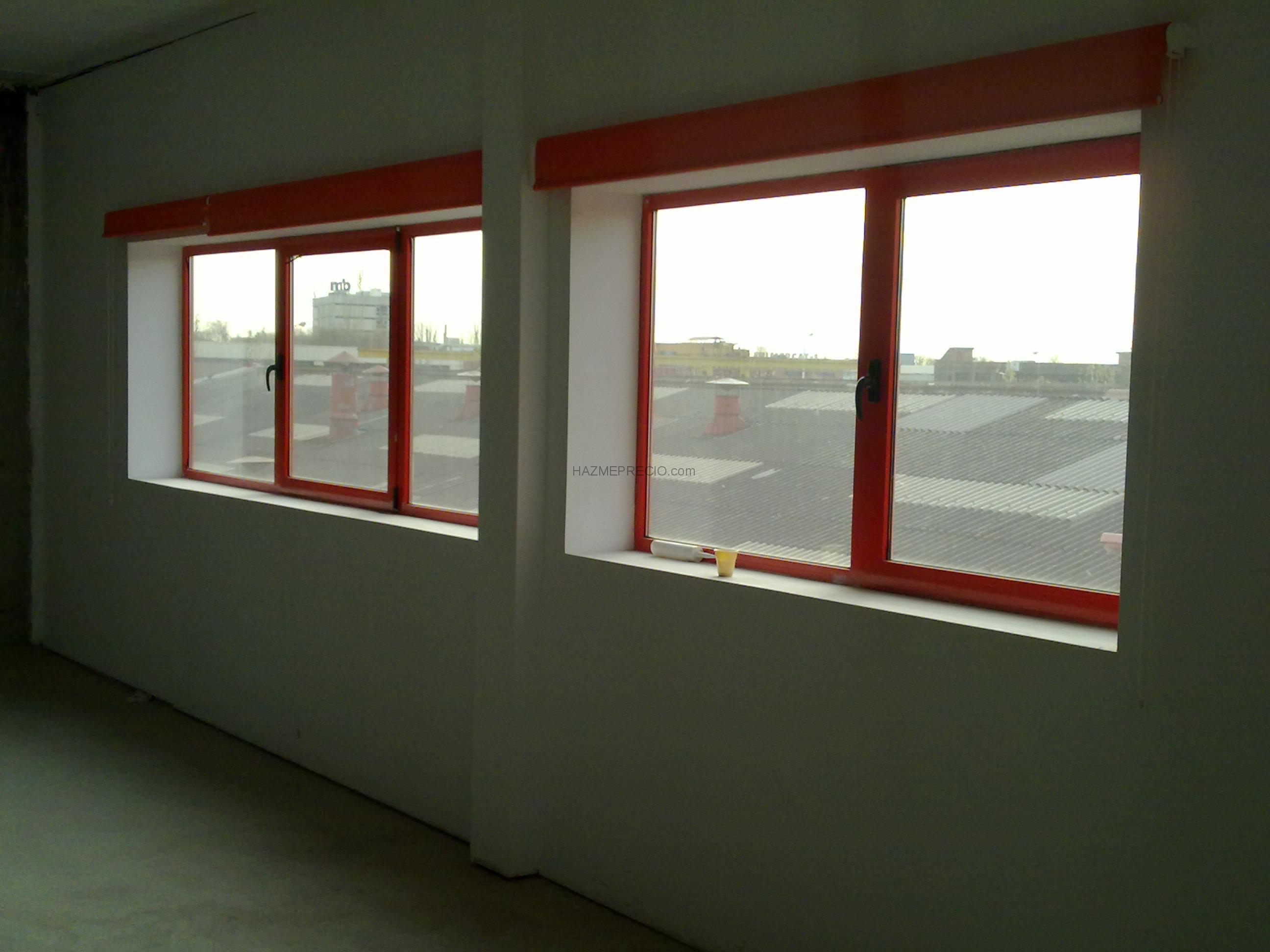Presupuesto para poner ventana oscilo batientes en for Precio poner ventanas aluminio