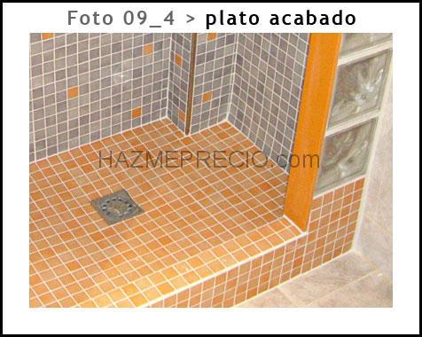 Unireformas 46520 sagunt valencia - Como hacer plato de ducha de obra ...