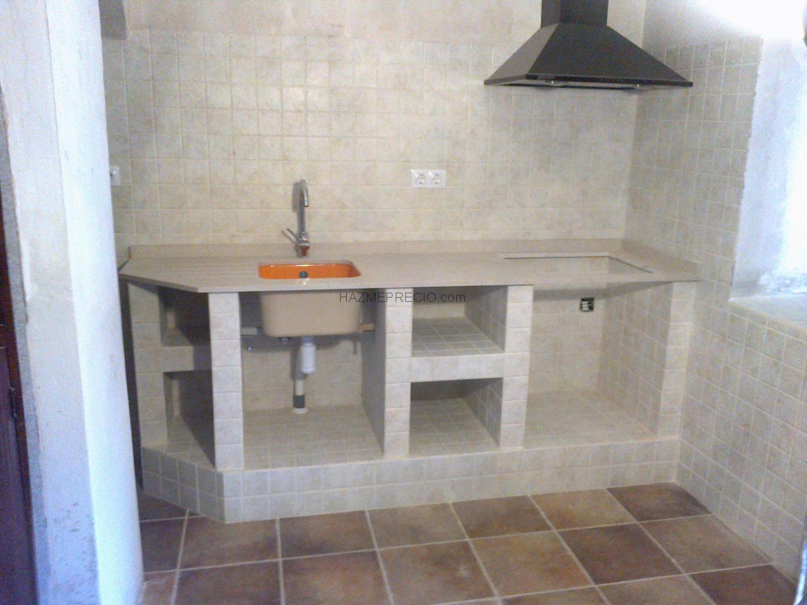 Cocinas integrales de concreto hermosa diseo de cocina de for Cocinas de concreto pequenas