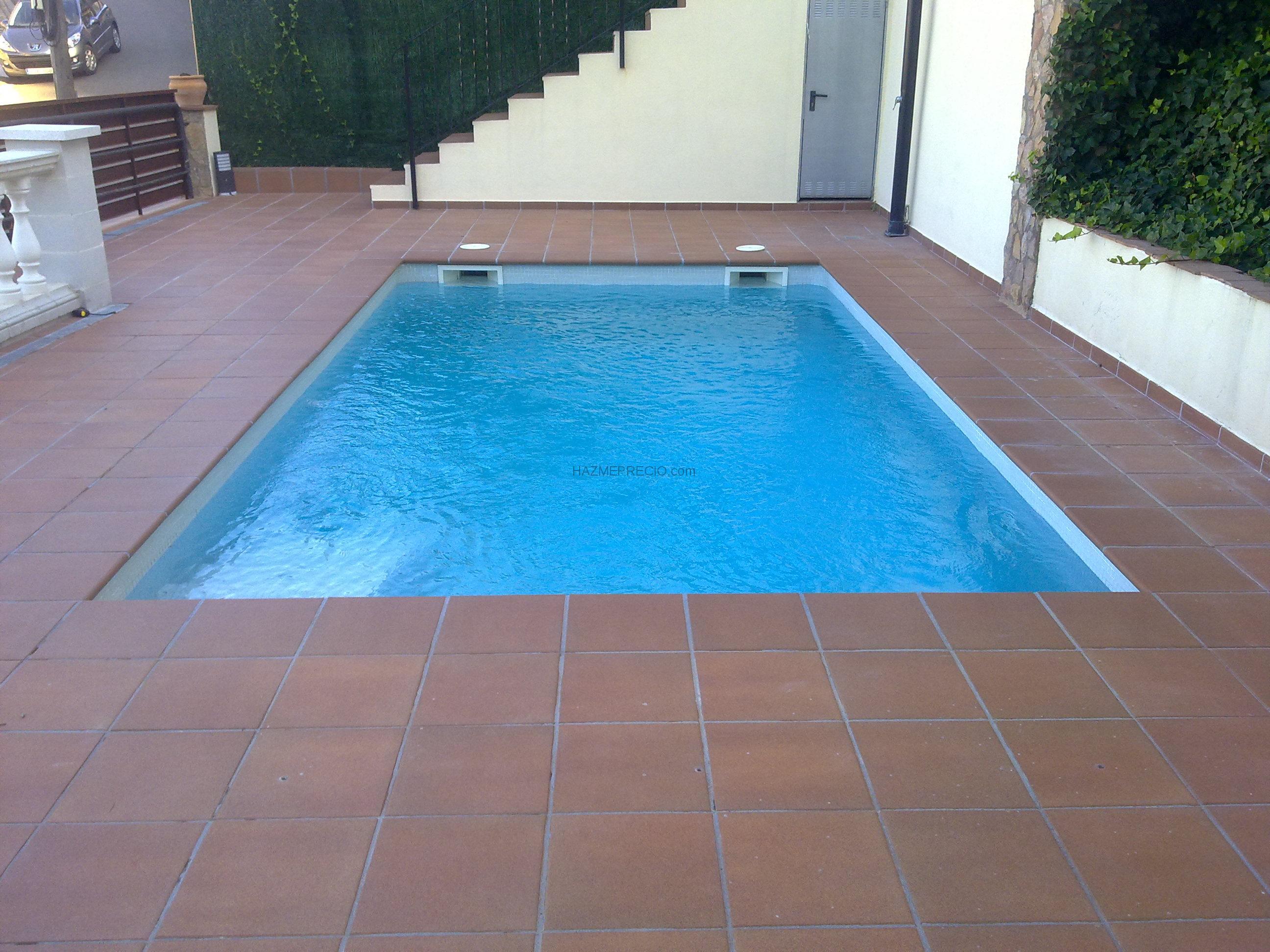 Precio de piscinas de obra top vallas with precio de - Precios piscinas de obra ...
