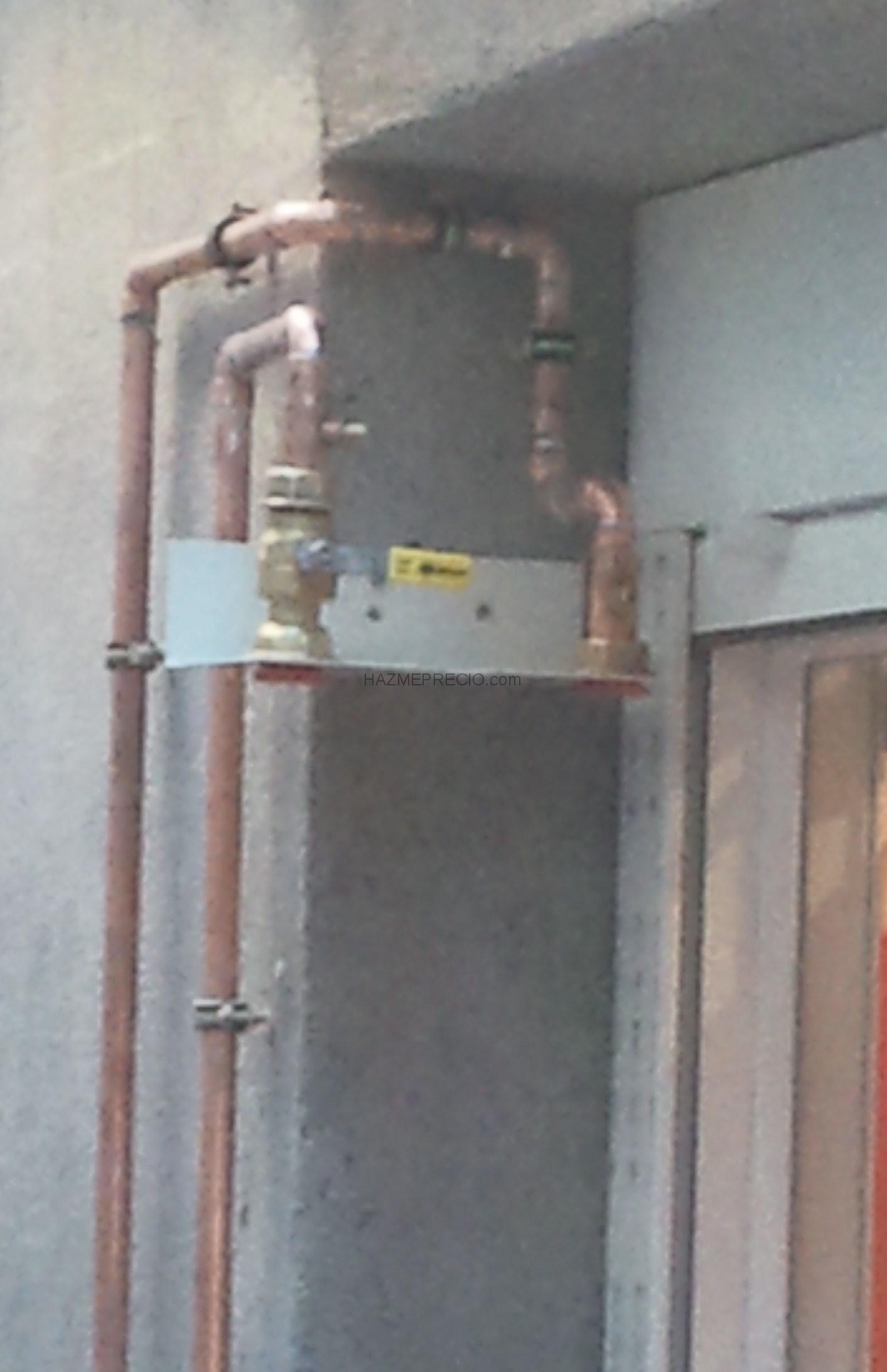 instalacion contador gas: