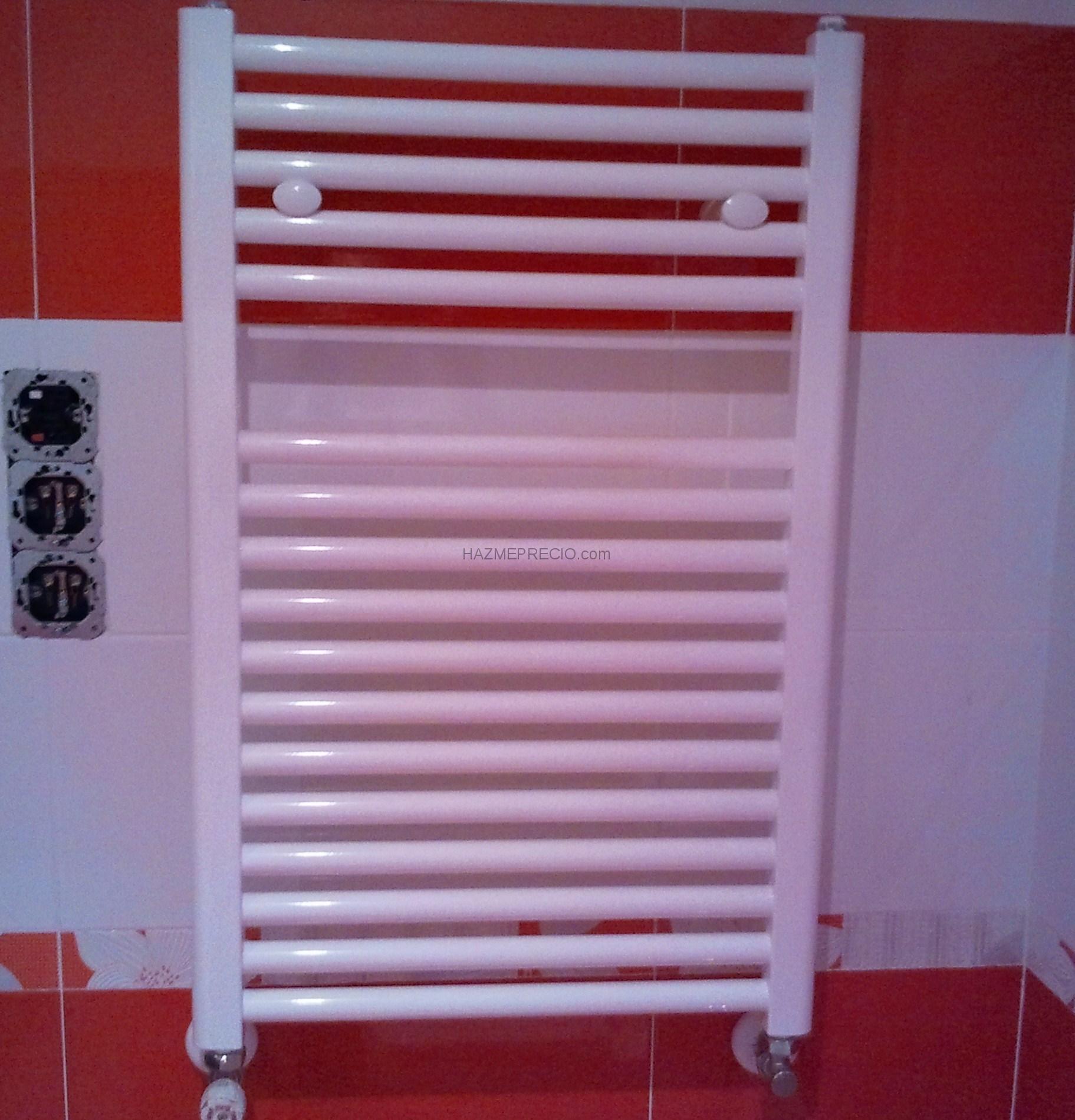 Presupuesto para arreglar dos radiadores pierden agua por for Radiadores toalleros agua