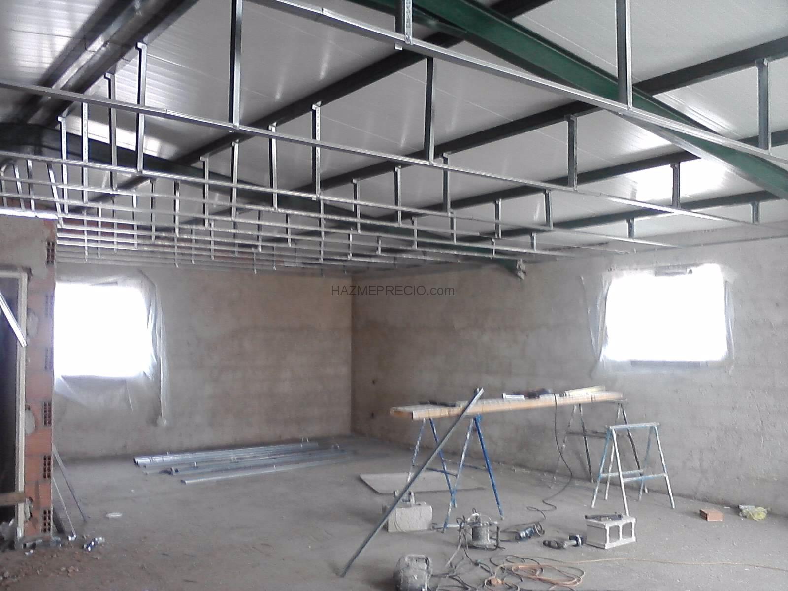 Presupuesto para poner techo de pladur en sal n y pasillo - Falsos techos de pladur ...