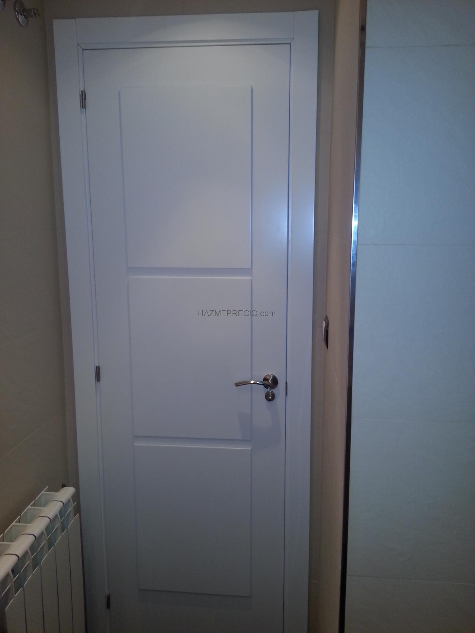 Presupuesto para instalacion de puertas interiores lacadas for Precio instalacion puertas interior