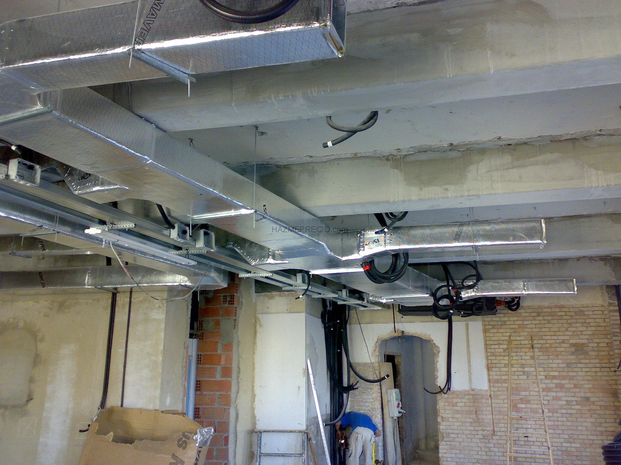 Presupuesto para instalar aire acondicionado por conductos for Maquina aire acondicionado por conductos