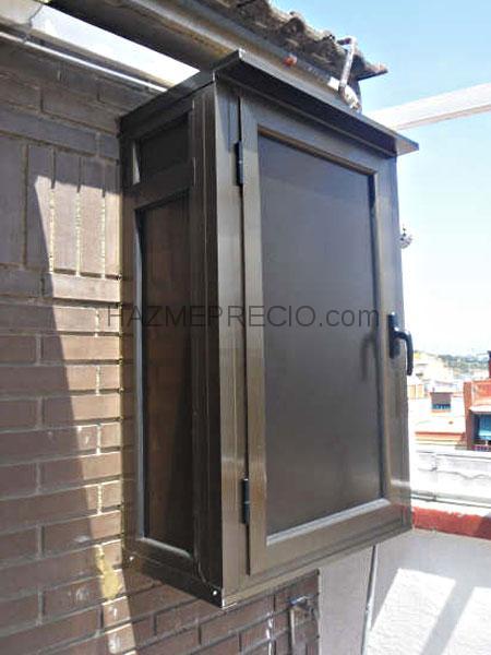 Presupuesto para instalar una ventana balconera aluminio masnou el barcelona - Armario para caldera exterior ...