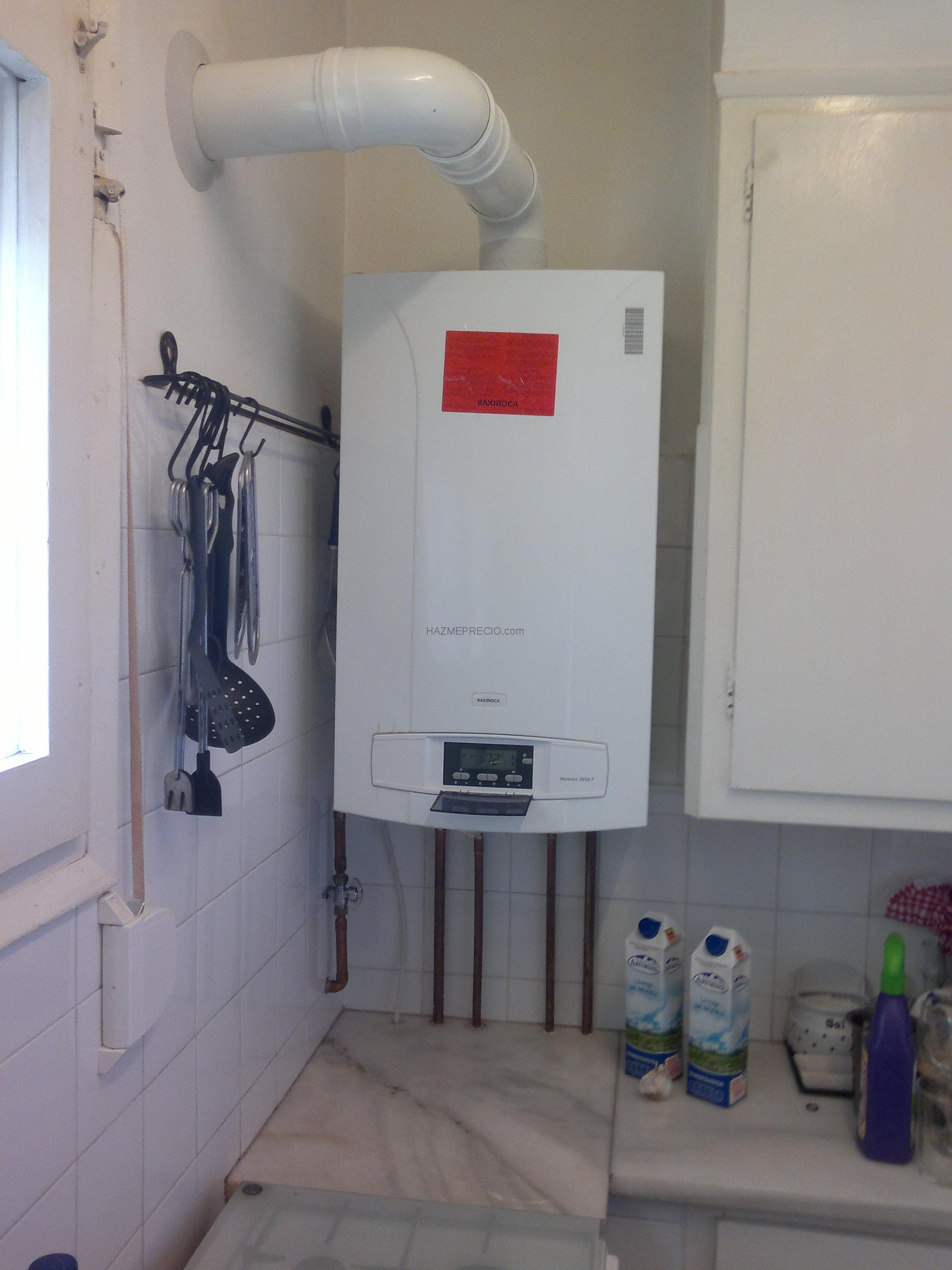 Presupuesto para cambiar el calentador de gas natural por - Instalacion calentador gas natural ...