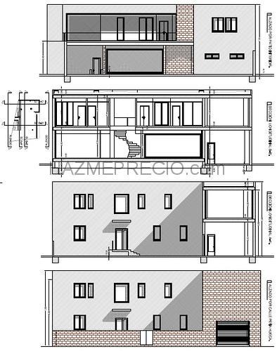 Presupuesto para construir una casa de planta baja con for Construir casa precio m2