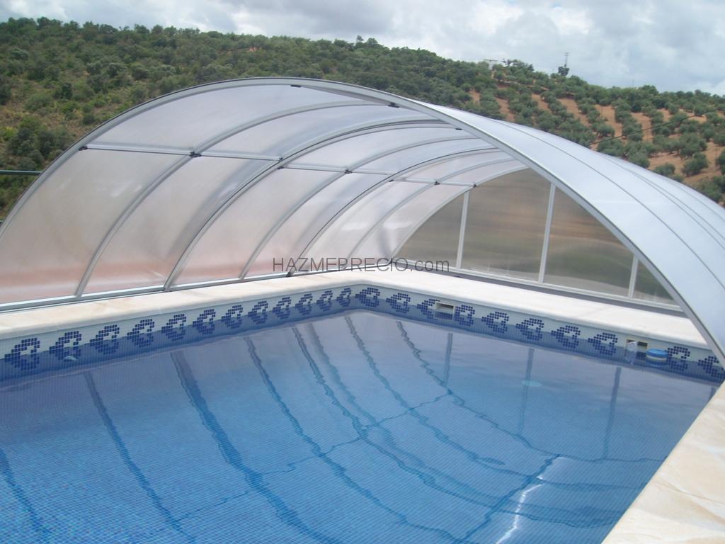 Presupuesto para poner una cubierta transparente en un Cubierta piscina precio