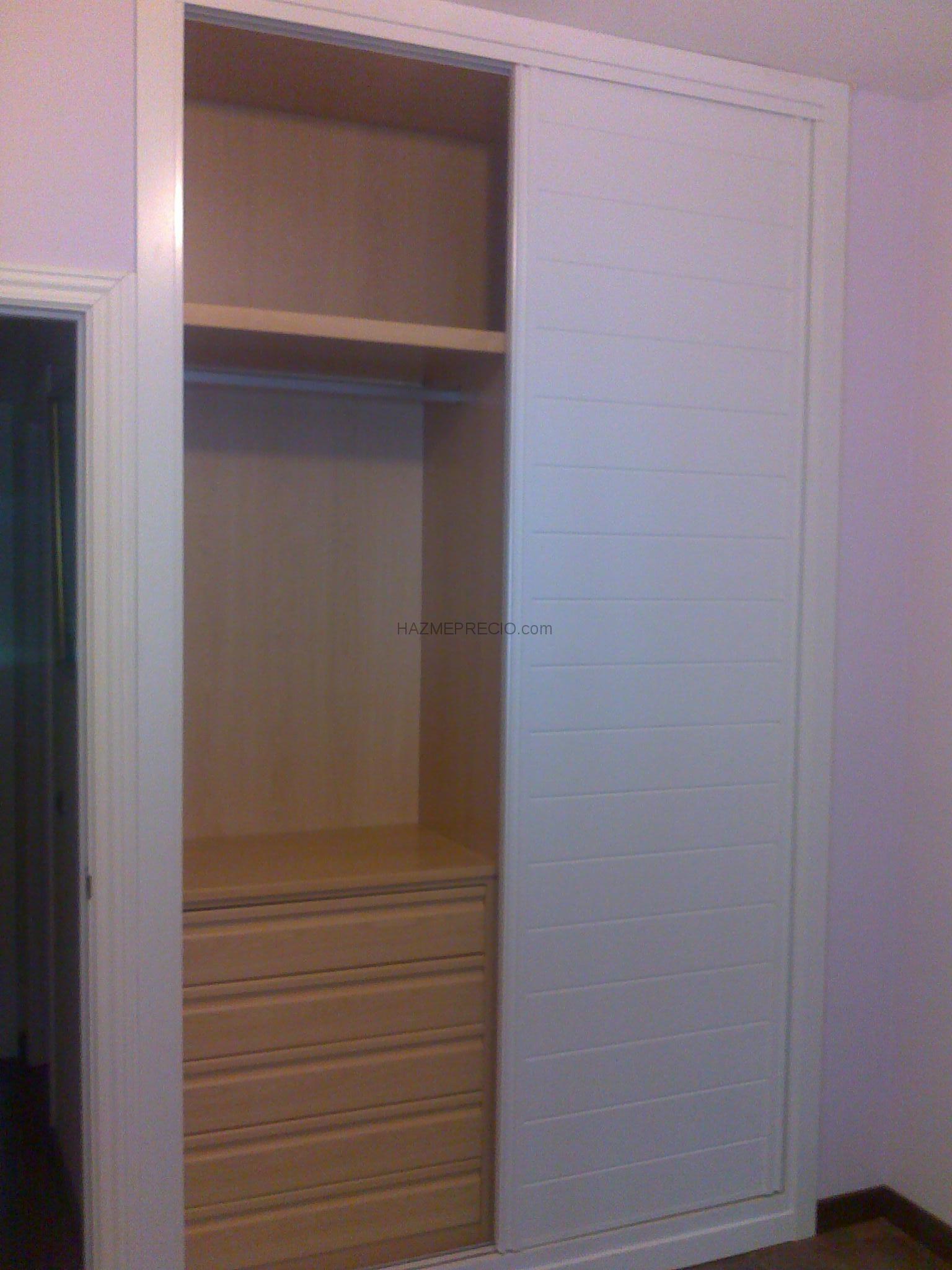 Presupuesto para hacer frentes de armarios empotrados 4 Precio puertas de paso