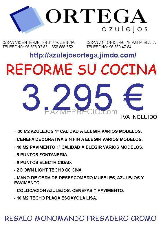 Presupuesto cocina for Empresas instaladoras de pladur en valencia