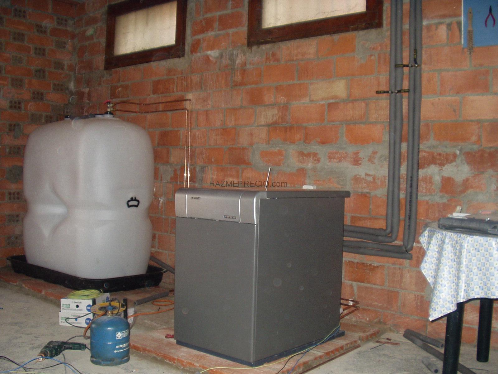 Presupuesto para reparar o cambiar caldera mixta estanca - Caldera de gasoil ...