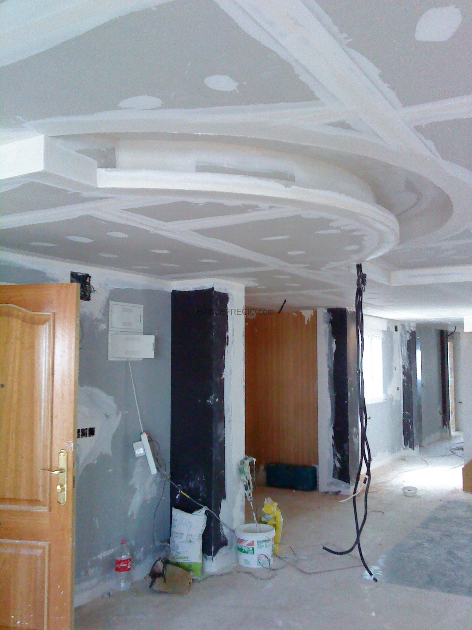 Precio m2 techo pladur generador de precios falso techo for Precio m2 tabique pladur colocado