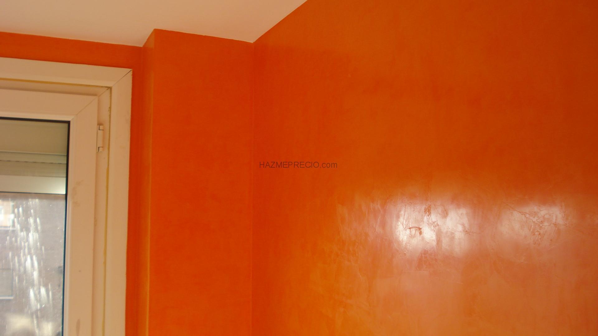 Presupuesto para pintar salon 23m2 collado villalba for Estuco veneciano precio