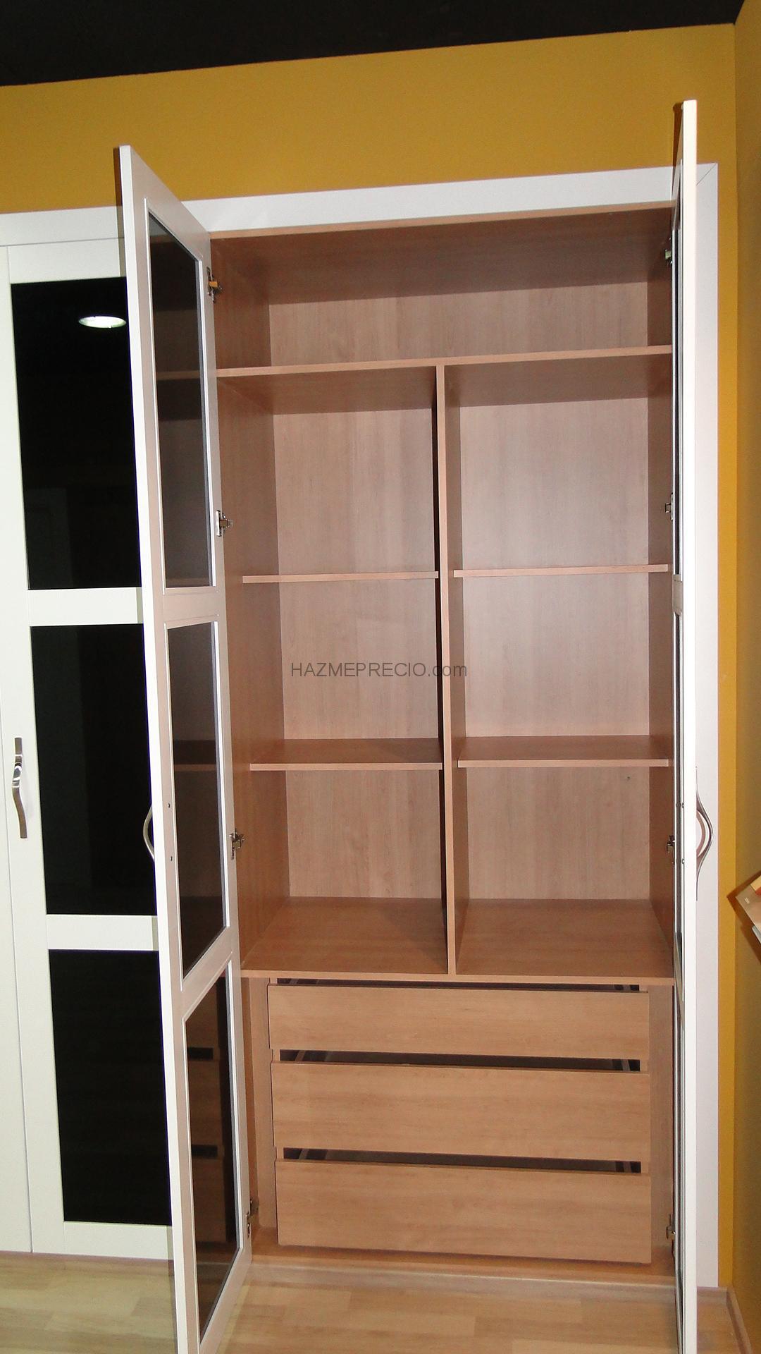 Presupuesto para hacer armario empotrado con 3 puertas for Armarios buenos