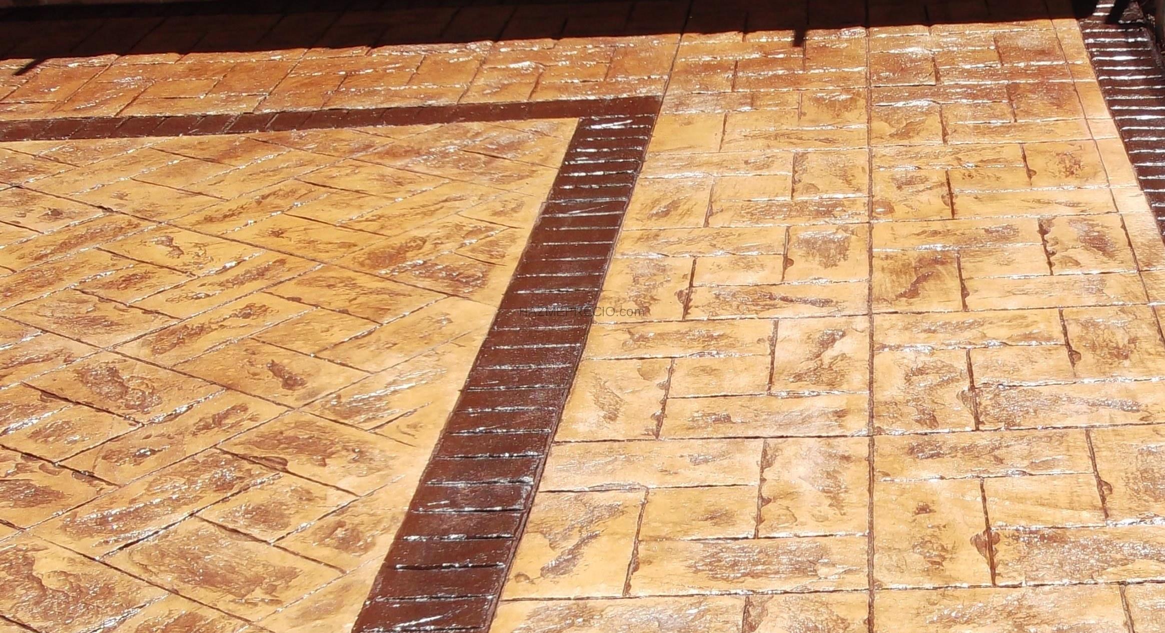 Pavimentos de hormigon impreso y pulido reformas muros for Suelo de hormigon precio