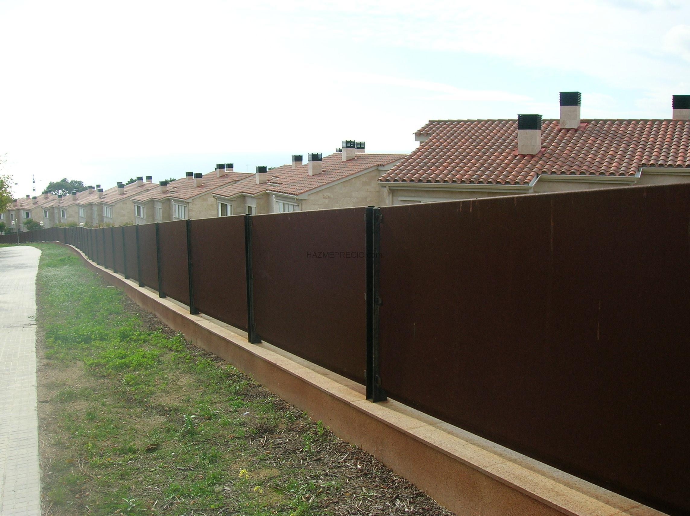 Presupuesto para valla baranda terraza ripollet for Barandas para terrazas