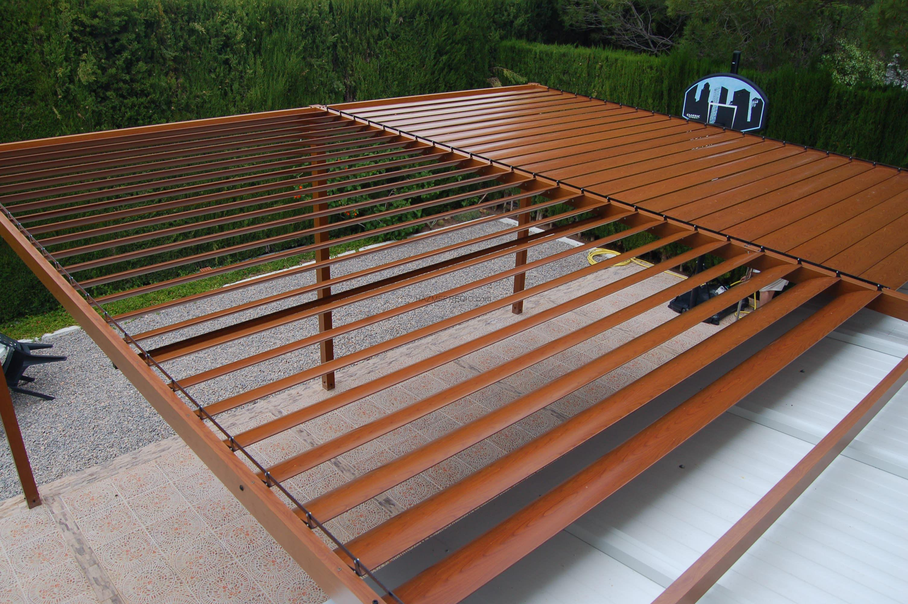Empresas de ventanas de aluminio en valencia for Lamas aluminio techo