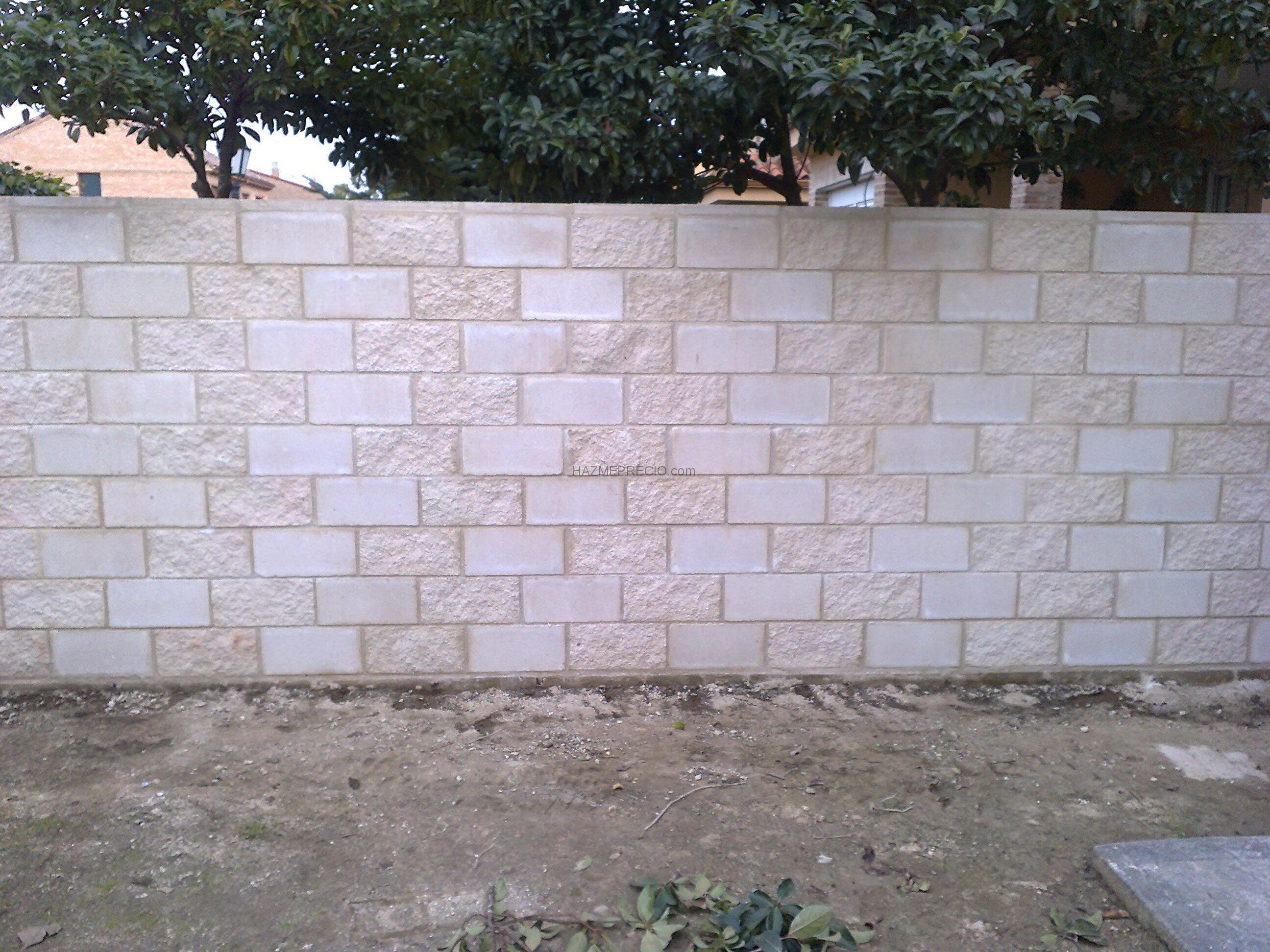 Muros de bloques de cemento hd 1080p 4k foto - Muro de bloques ...