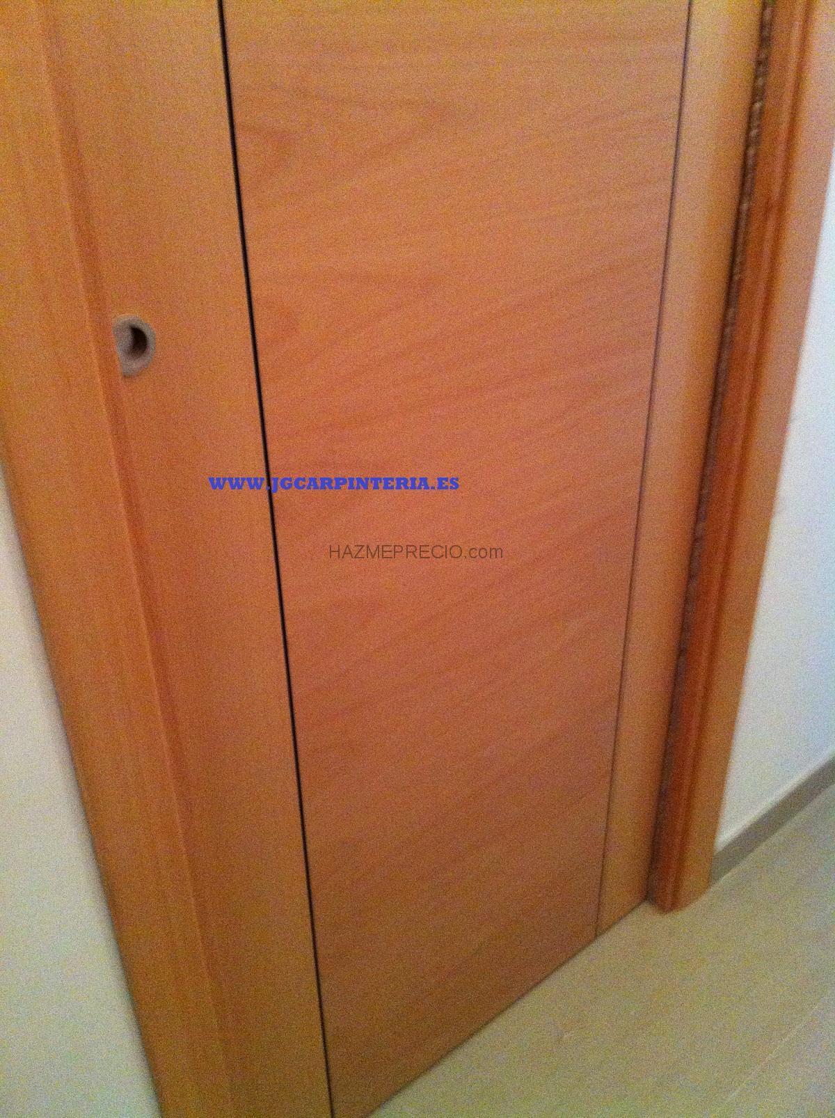 Presupuesto para cambiar 7 puertas de interior lisas for Presupuesto puertas interior