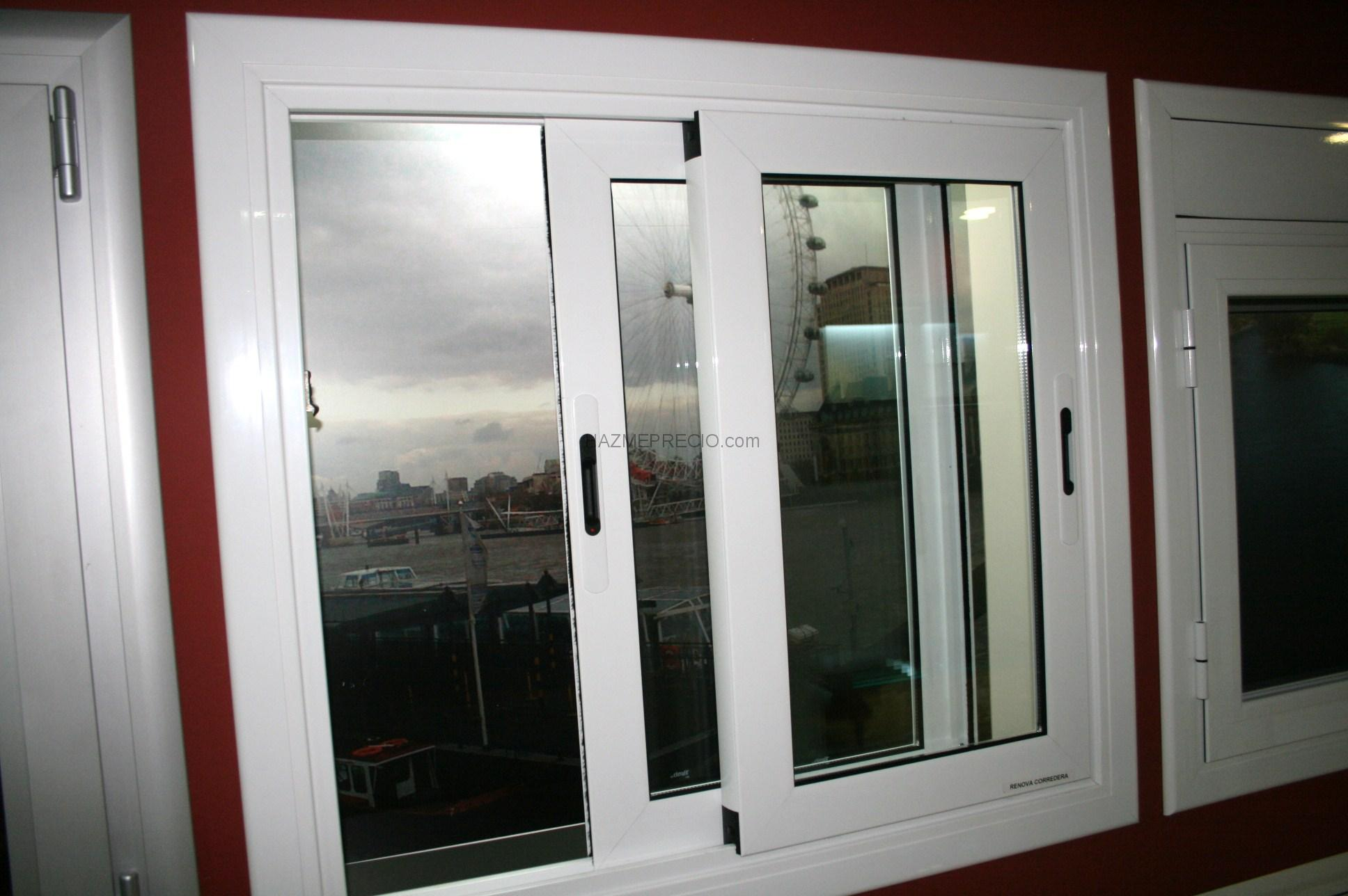 presupuesto para poner ventanas de aluminio con cristal