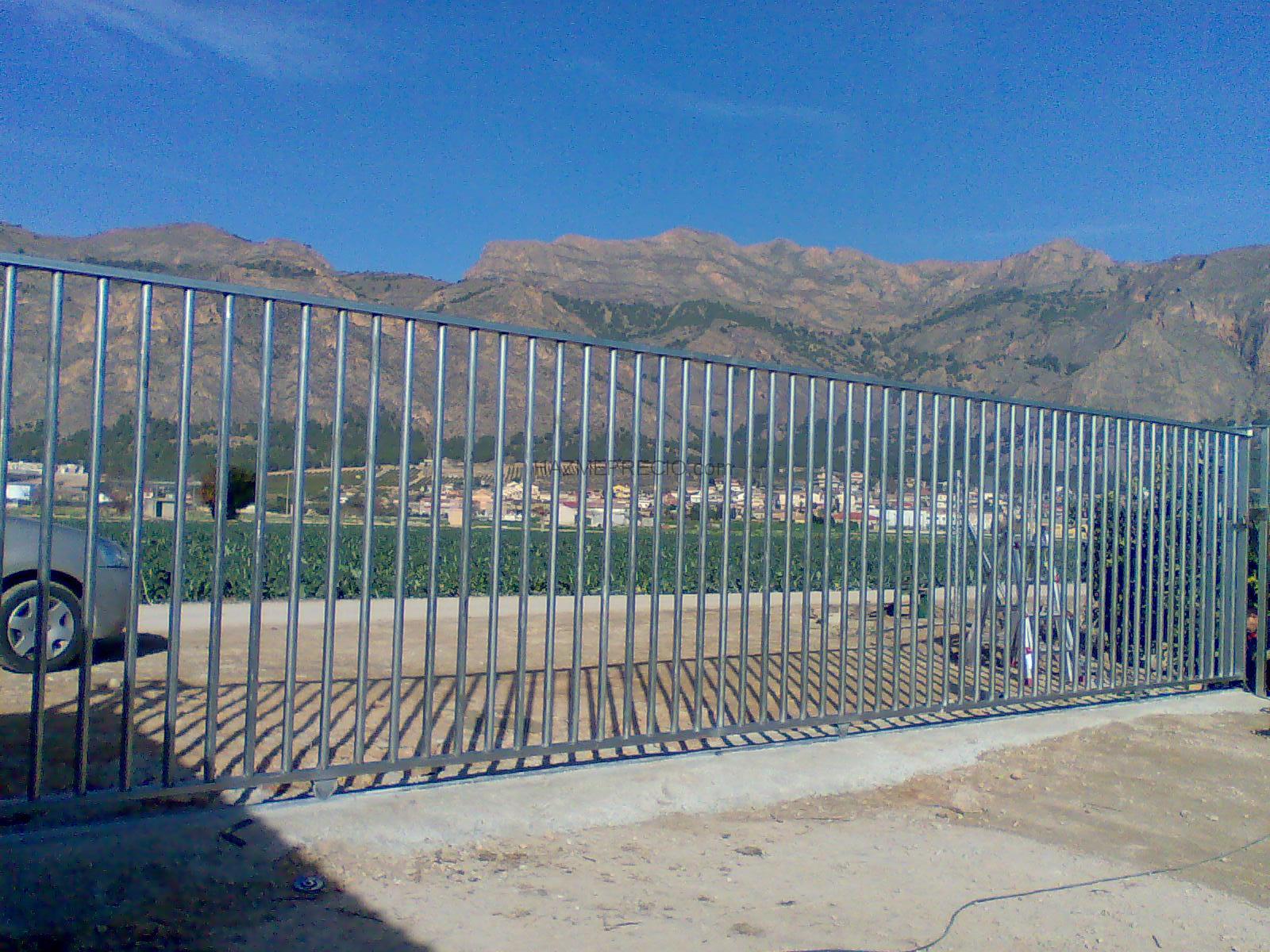 Empresas de carpinteria metalica en alicante - Cerramientos de parcelas ...