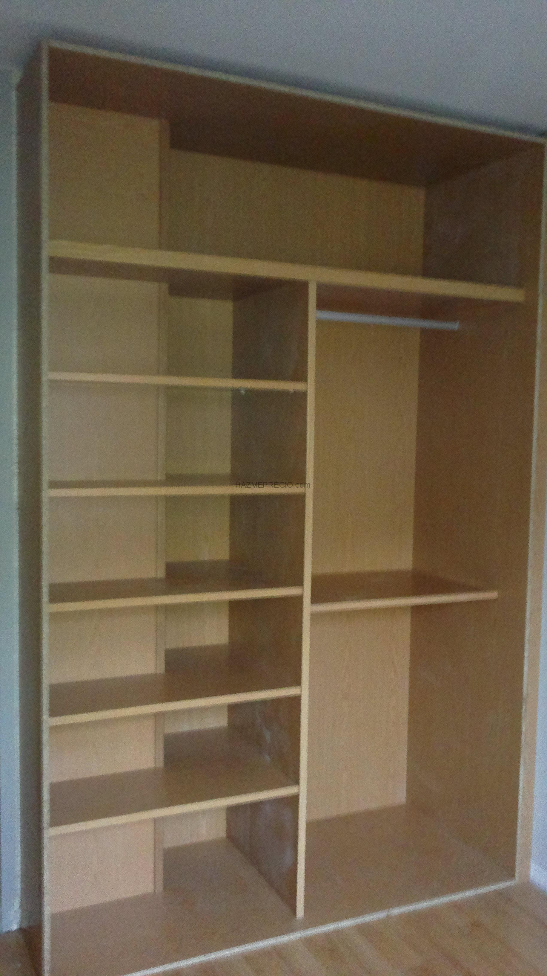 Presupuesto para hacer armario empotrado pladur - Revestir armario empotrado ...