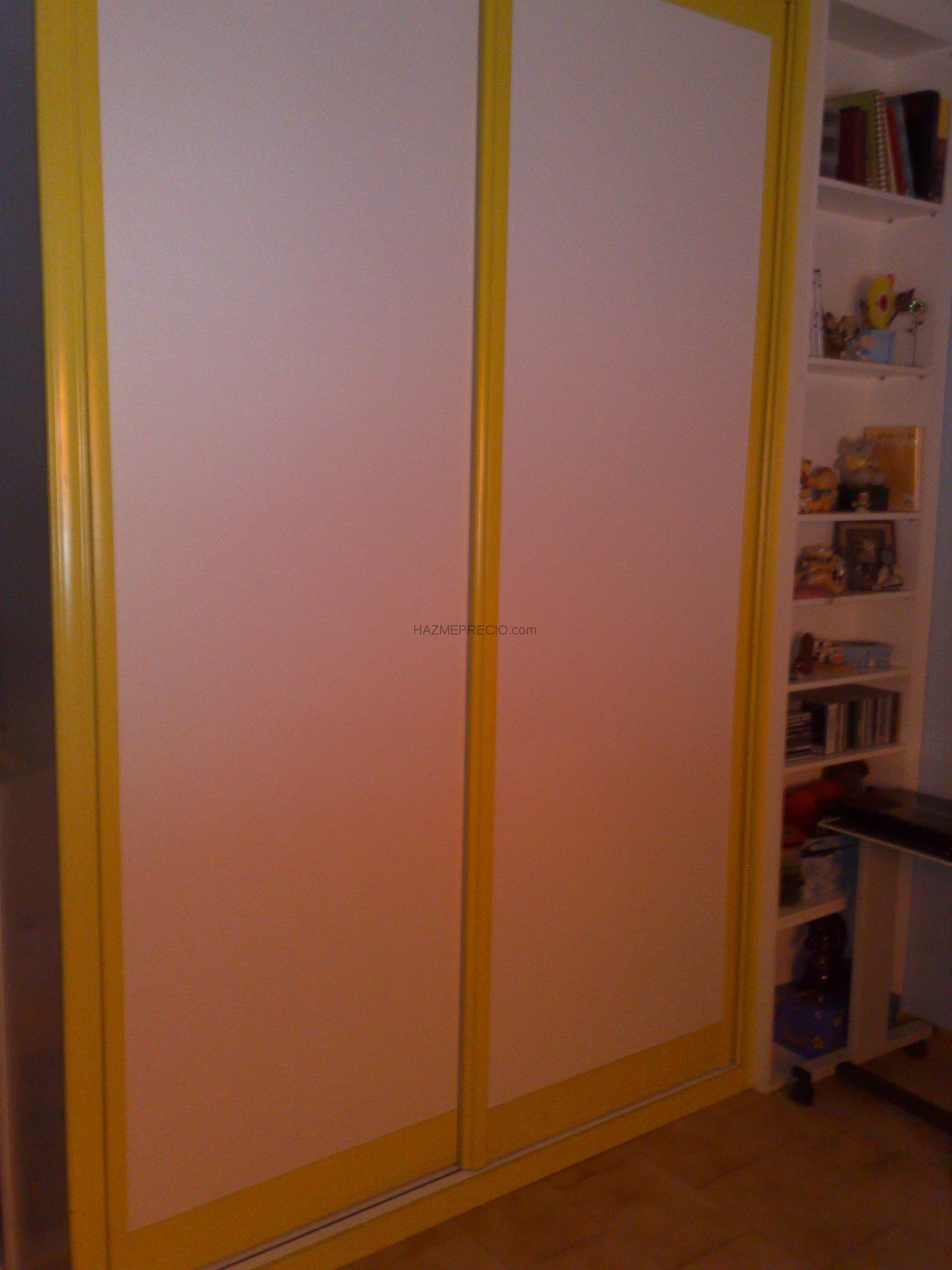 Presupuesto para hacer armario empotrado con puertas - Hacer puertas correderas ...