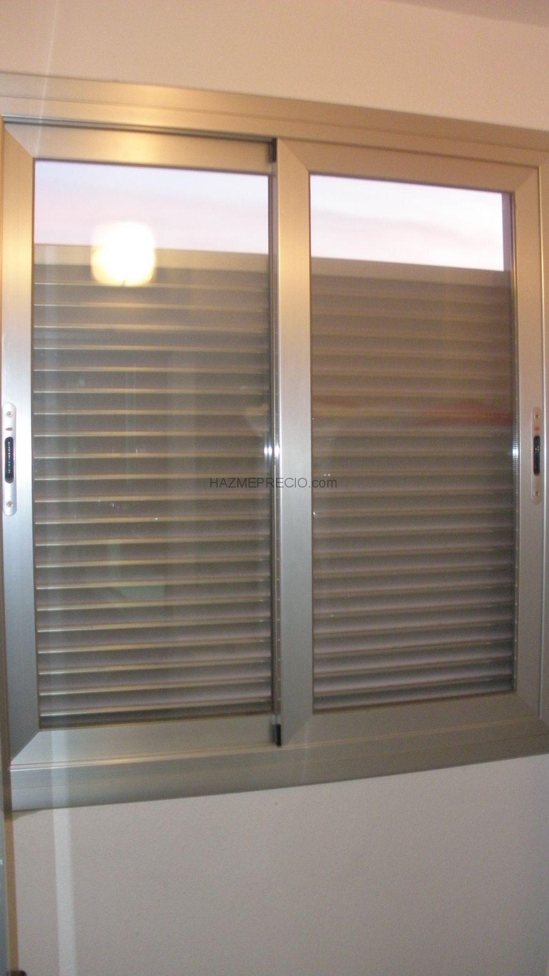 Presupuesto para poner ventanas fijas lisas con cristal for Precio poner ventanas aluminio