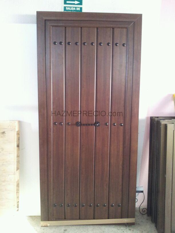 Puertas de chapa para exterior precios finest simple - Precios puertas de aluminio para exterior ...