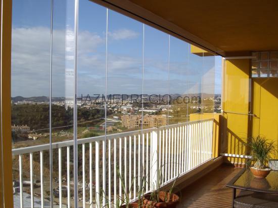 Presupuesto para instalar cortinas de cristal lumon u - Cristaleria fuengirola ...