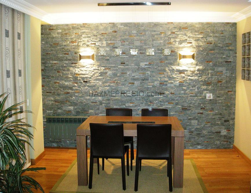 Pared de piedra salon awesome simple un muro de piedra - Pared piedra salon ...