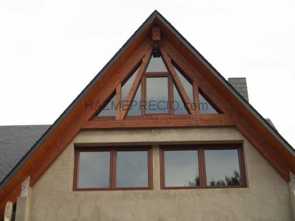 Anoia finestra 08700 igualada barcelona - Ventanas pvc imitacion madera ...