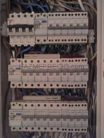 Instaladores de videoporteros - Cuadro electrico vivienda ...
