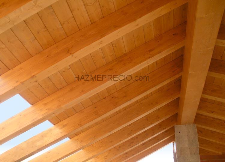 Presupuesto para poner tejado en cangas del narcea for Tejados de madera fotos