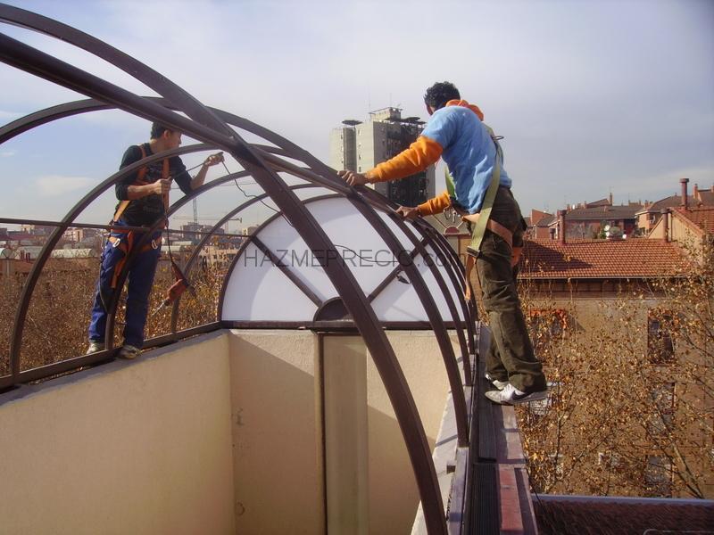 Reparacion de tejados a grande 28400 collado villalba - Precios policarbonato celular ...