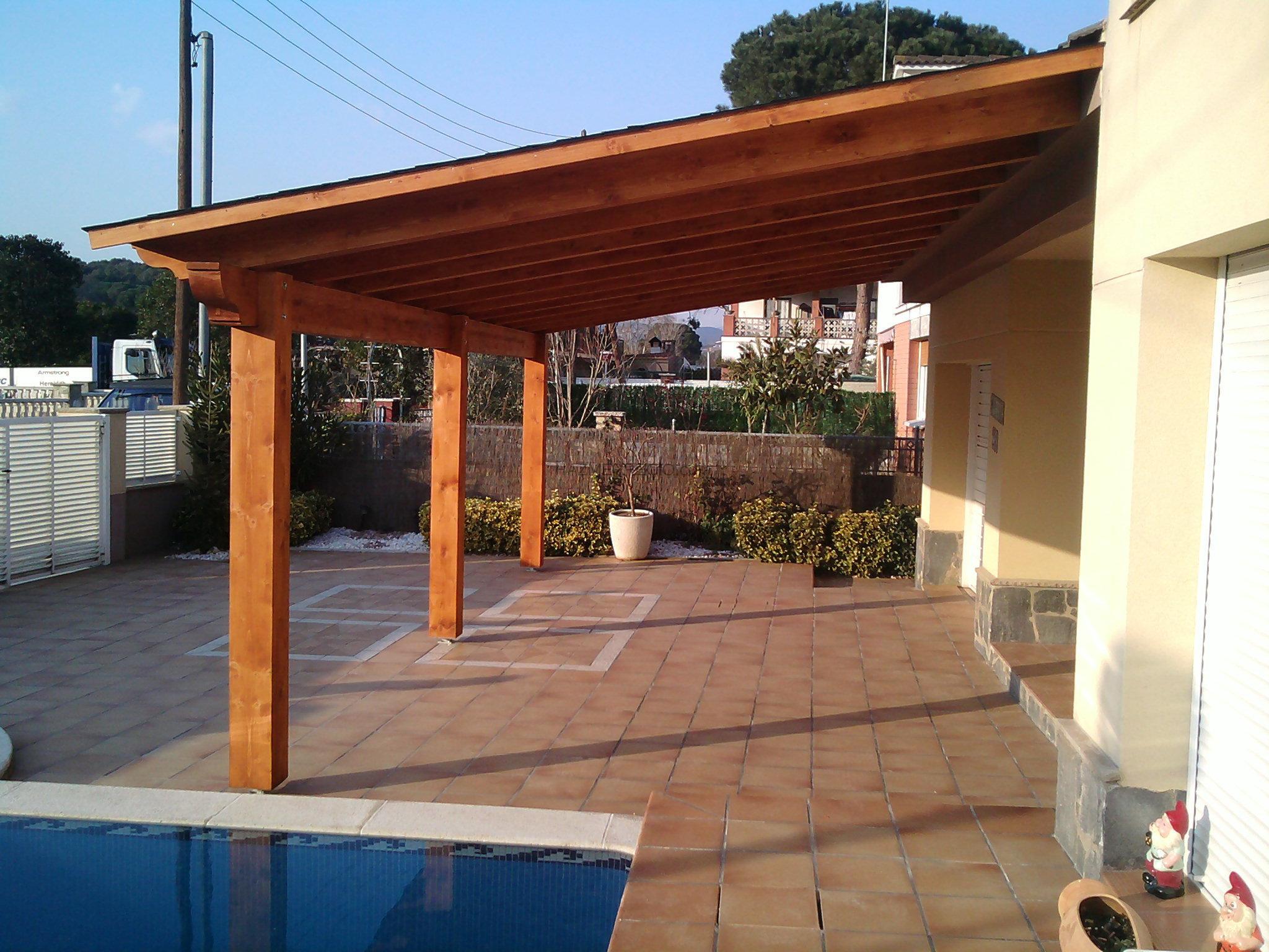 Acobert 08140 caldes de montbui barcelona - Madera para porches ...