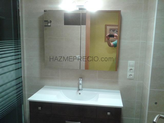 Ba o en marron azulejos ortega for Empresas instaladoras de pladur en valencia