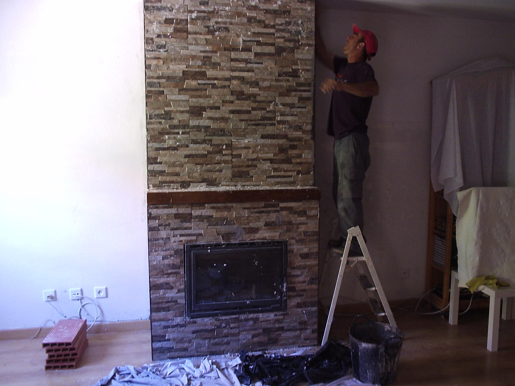 1000 images about chimeneas on pinterest fireplaces - Chimeneas de obra ...