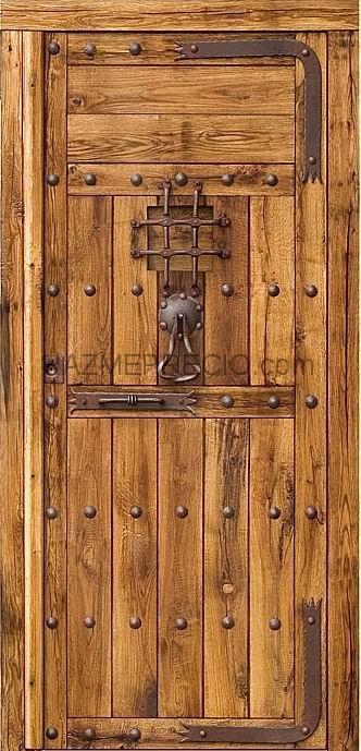 Empresas de puertas en toledo for Ventanas de madera rusticas precio