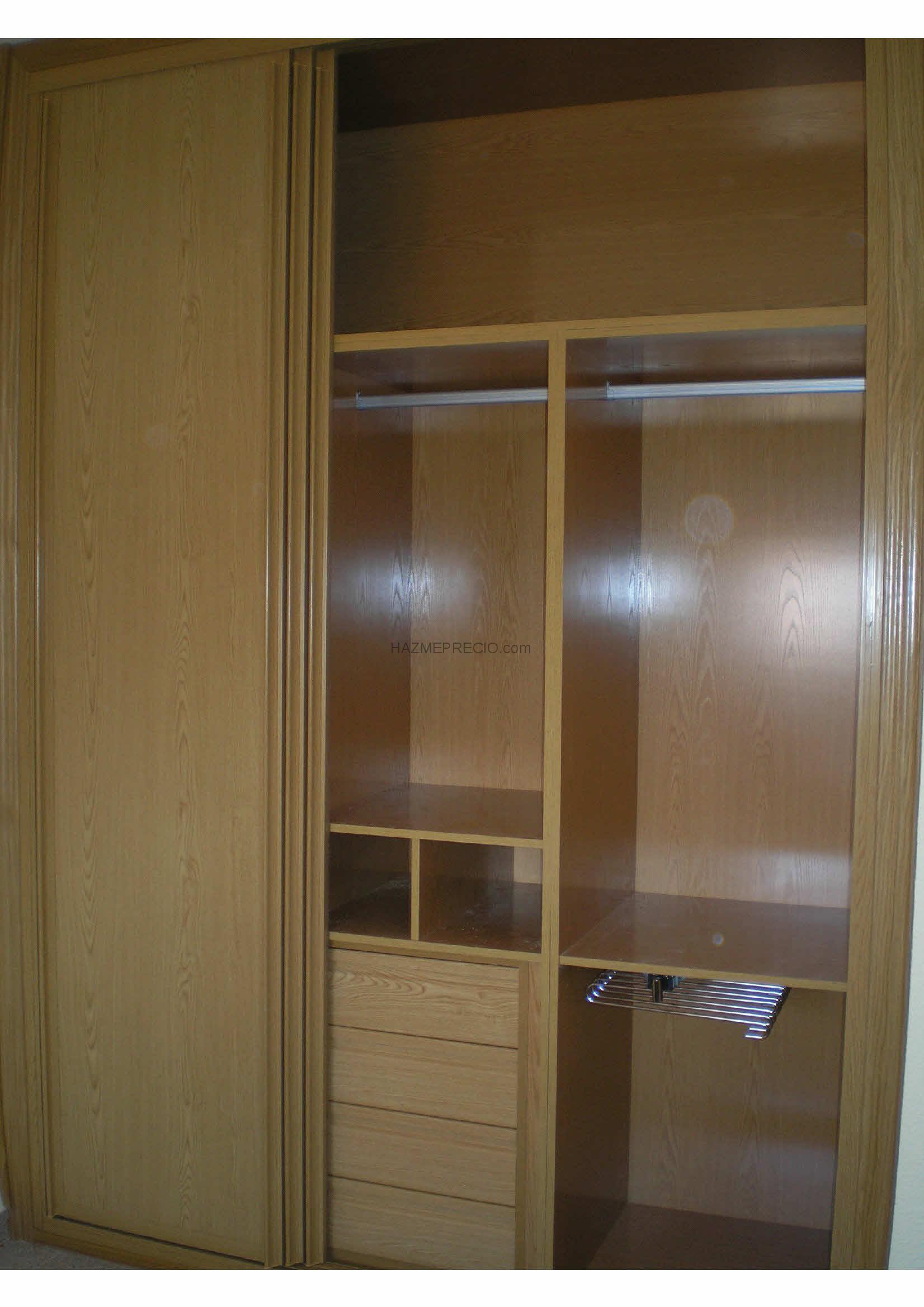 precio de cajoneras para interiores de armarios lolamados with forrar armario empotrado