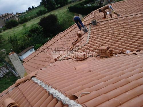 Empresas de cubiertas en asturias for Cambiar tejado casa antigua