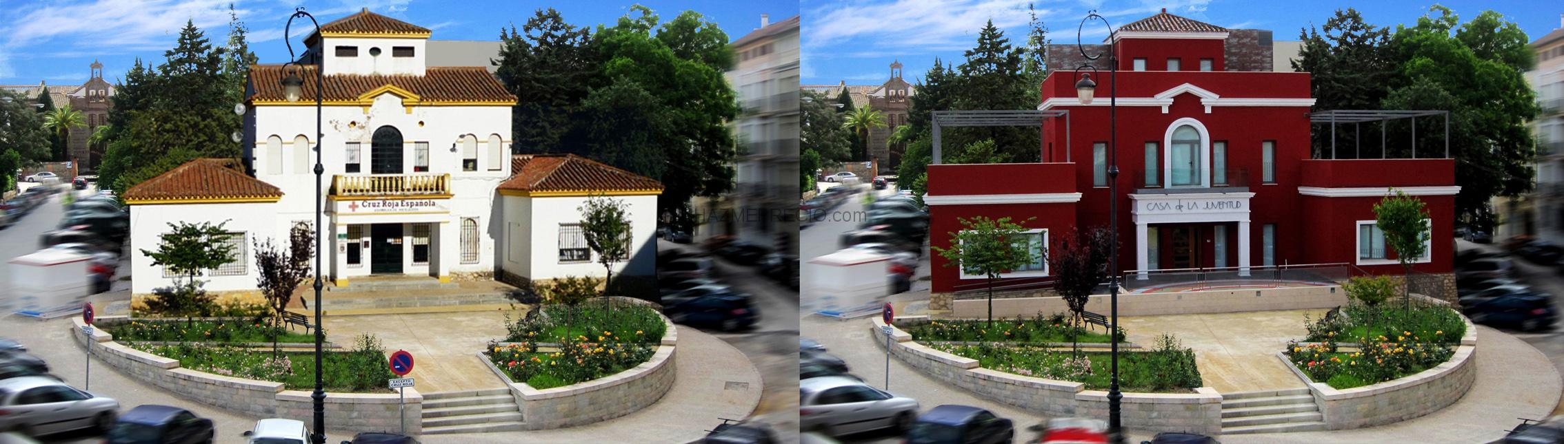 Rehabilitaci n de la antigua sede de la cruz roja para casa de la juventud de antequera - Subvenciones rehabilitacion casas antiguas ...